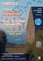 Carolles, 15° Week-end de la Saint-Michel / Weekend du 24-25 septembre 2016