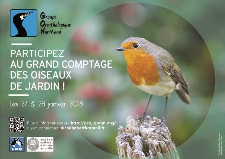 GCOJ - Grand Comptage des Oiseaux de Jardin / GONm